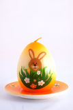 Easter simbol  candle Royalty Free Stock Photography
