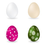 Easter and simple egg Royalty Free Stock Photos
