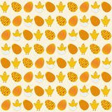 Easter simple seamless pattern. Stock Image