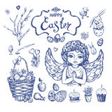 Easter_sketch Fotografia Stock