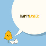 Easter social media concept background Stock Photos