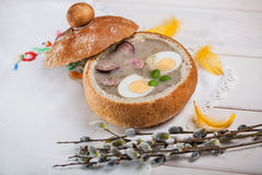 Easter soup Royalty Free Stock Images