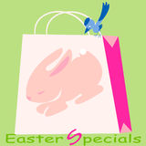 Easter  Specials Royalty Free Stock Photography