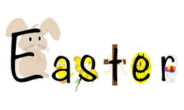 Easter illustration Royalty Free Stock Photography