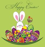 Easter spring background Stock Photos