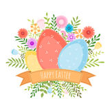 Easter spring background. Stock Image