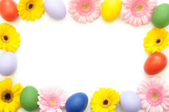 Easter spring border Royalty Free Stock Photography