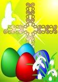 Easter spring card  Stock Photos