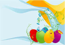 Easter spring card Royalty Free Stock Photography