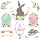 Easter Spring Elements Stock Images