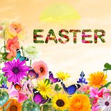 EASTER. Spring holiday Royalty Free Stock Image