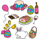 Easter Spring Items Stock Photos