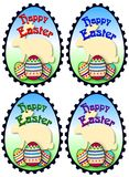 Easter stamps royalty free stock images