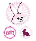 Easter stickers Stock Images