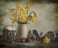 Easter still life Stock Photo