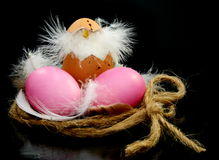 Easter still life. Royalty Free Stock Photo