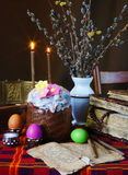 Easter still life. The traditional christian easter still life Stock Photography