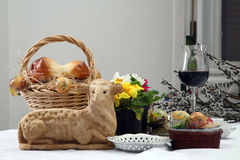 Easter still life Stock Image