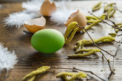 Easter still life Stock Photos
