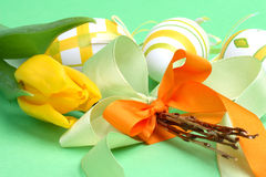 Easter still-life Stock Photo