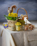 The easter still life Stock Photography