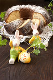 Easter still life with cake Stock Image
