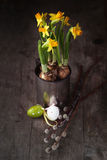 Easter still life Royalty Free Stock Images
