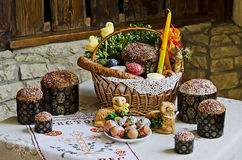 Easter still life Stock Photography