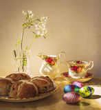Easter still life. Easter Morning stock image