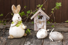 Free Easter Still Life With Holiday Decorations Stock Image - 51521341