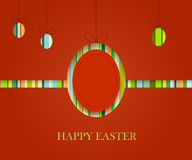 Easter stip background Stock Photos