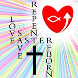 The easter story. Is one of love and rebirth Royalty Free Stock Photos