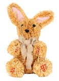 Easter straw rabbit Royalty Free Stock Images