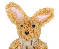 Easter straw rabbit Stock Images