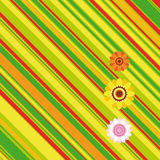 Easter stripe background. An illustration for your design project Stock Photo