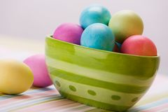 Easter Stripes Royalty Free Stock Photo