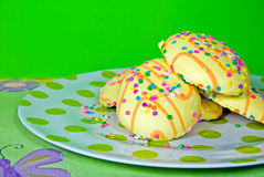 Easter Sugar Cookies Stock Images