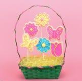 Easter Sugar Cookies Stock Photos