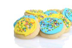 Easter sugar cookies Stock Photo