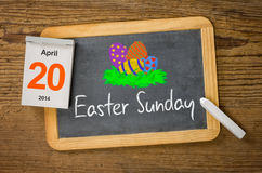 Easter Sunday 2014 Stock Image