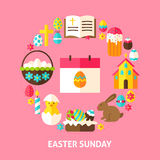 Easter Sunday Card Stock Images