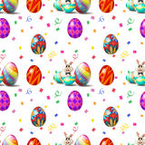 An Easter Sunday seamless design Royalty Free Stock Images