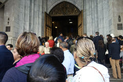 Easter Sunday at St. Patrick's Cathedral Royalty Free Stock Image