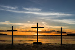 Easter Sundown Stock Photography