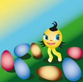 Easter sunny Royalty Free Stock Image