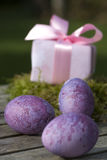 Easter surprise in pink Stock Image