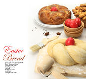 Easter sweet bread dough Stock Image
