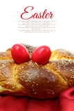Easter sweet brioche Stock Images
