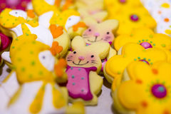 Easter sweet candies Rabbit Stock Image