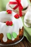 Easter sweet ring cake Royalty Free Stock Image